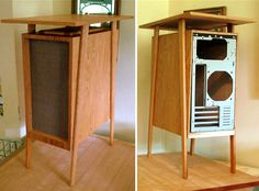 A mid-century modern PC tower.  Like the whole steampunk thing, only mid-century.  More to my taste.