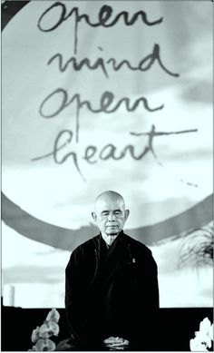 Thich Nhat Hanh is such an inspiration for peace, compassion and mindfulness. I hope to one day exude a quarter of the peace he does. Thich Nhat Hanh, Dalai Lama, Buddhist Monk, Buddhist Wisdom, Buddhist Quotes, Osho, Yoga Meditation, Meditation Quotes, Simple Meditation