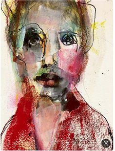 Abstract Art as well as I. – Buy Abstract Art Right Abstract Face Art, Abstract Portrait Painting, Abstract Canvas Art, Watercolor Portraits, Portrait Art, Figure Painting, Painting & Drawing, Expressionist Portraits, Watercolor Face