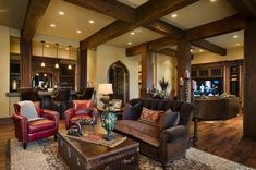 rustic home decor | Rustic Family Room Decorating Ideas for winter 2014 | Home Decor ...