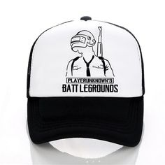 a349b8a8cb6 PUBG Summer Baseball cap Men women letters printed Cool Mesh hat Fashion  casual outdoor Trucker Caps Hat. Yesterday s price  US  8.60 (7.48 EUR).