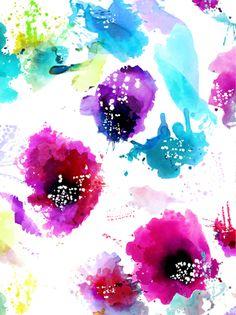 Lital Gold - Textile Design  Illustration - Textile Print*