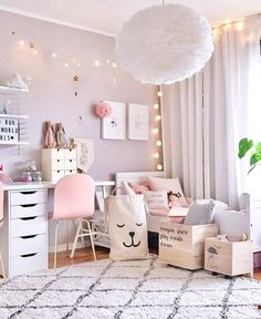 Inspiration from Instagram - pastel girls room ideas - scandinavian style