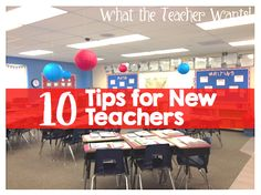 10 Tips for New Teac