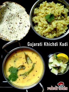Gujarati khichdi kadi