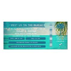 39 Best Boarding Pass Invitation Images Wedding