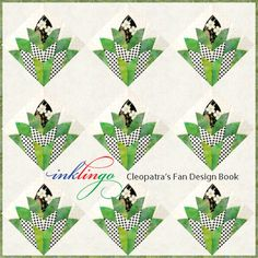 Cleopatra s fan quilt on pinterest cleopatra fans and quilt designs