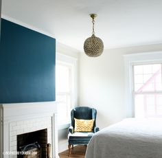 I painted a room! Hop on over to my blog for all the details. :)      http://www.inspiredbycharm.com/2012/09/painted.html#