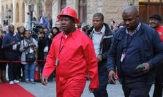 """Julius Malema has released a book entitled """"The Coming Revolution: Julius Malema and the Fight for Economic Freedom"""". Malema surprised everyone when his new Economic Freedom Fighters party took nearly 10 percent of the vote in this year's elections."""