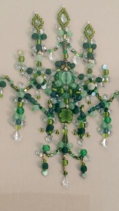 Green glass and crystal beaded embroidery on pure linen. The Opulent Thread Sydney Australia Crystal Beads, Crystals, Sydney Australia, Beaded Embroidery, Pure Products, Drop Earrings, Create, Glass, Green
