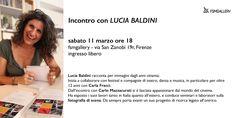 Incontro con LUCIA BALDINI, La fotografia tra editoria industriale e editoria domestica Exhibitions, Events, Fotografia, Musica