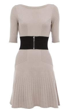 Karen Millen Ladylike Merino Knit Dress [#KMM133] - $87.00 :
