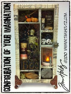 Configuration of your Imagination by Tim Holtz - Halloween