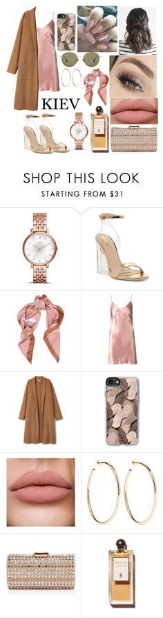 """""""Kiev Travel Outfits"""" by emily5302 ❤ liked on Polyvore featuring Moschino, Fleur du Mal, Casetify, Jennifer Fisher, Sondra Roberts, Ahlem, ukraine, kiev and outfitsfortravel"""