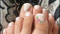 Uñas Toe Nail Art, Acrylic Nails, Cute Nails, Pretty Nails, Mani Pedi, Manicure, Summer Toe Nails, Beautiful Toes, Toe Nail Designs