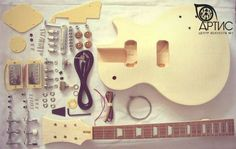 Guitar Kits Diy Guitar kits Products Made In China, China Manufacturer. BodyMaterial:Basswood Neck Material: Maple with rosewood fingerboard A complete set of guitar parts for a guitar With a guitar cable . Electric Guitar Kits, Electronic Kits, Guitar Cable, Guitar Body, Guitar Parts, Guitar Building, Diy Kits, Musical Instruments, Musicals