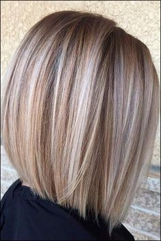 50 Medium Bob Hairstyles for Women Over 40 in Bob hairstyles are always cu. - - 50 Medium Bob Hairstyles for Women Over 40 in Bob hairstyles are always cute but there are too many choices. If you want to change your look or . Stacked Bob Hairstyles, Bob Hairstyles For Fine Hair, Medium Bob Hairstyles, Ladies Hairstyles, Hairstyles Haircuts, Trendy Hairstyles, Bob Style Haircuts, Pixie Haircuts, Over 40 Hairstyles