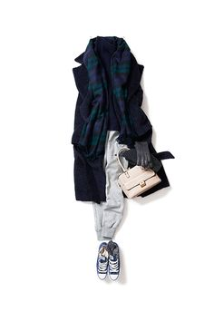 Kyoko Kikuchi's Closet #kk-close 寒い日のリラックススタイル