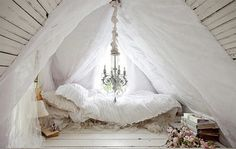 romantic Attic  Bedroom