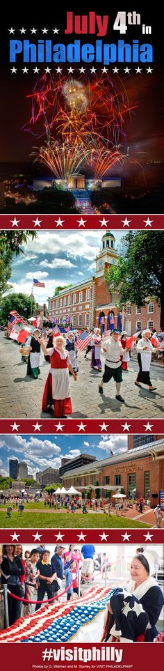 Your Guide to July 4th in Philadelphia and Wawa Welcome America! Events