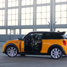 High-octane hang time. #asktheNEWMINI a question today!
