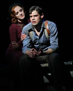 Bonnie & Clyde, With Laura Osnes and Jeremy Jordan, on Broadway Bonnie And Clyde Musical, Bonnie And Clyde Photos, Bonnie Clyde, I Have A Crush, Having A Crush, Laura Osnes, Jack Kelly, Bonnie Parker, Tuck Everlasting