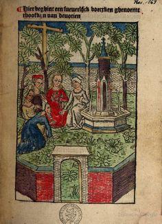 Het hoofkyn van devotien - 1487