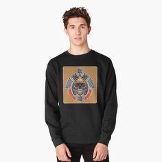 """Altes Wissen"" T-Shirt von Nikola Eftimov - Some of my designs (fashion & costume design, textile design, logo design, digital artworks etc) - Luxury Lifestyle Pullover, Crew Neck Sweatshirt, Graphic Sweatshirt, Bowling, Mai Sakurajima, Re Zero, Sport, Rock, Ugly Christmas Sweater"