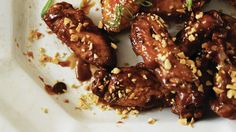 Sunny Anderson's Recipe for Peanut Butter and Jelly Wings