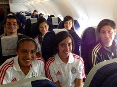 La Selección Nacional Femenil Sub-17 viajó a Colombia