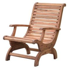 Belham Living Avondale Adirondack Chair - Natural | Hayneedle