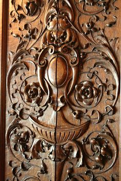 James J. Hill House | Wood carvings