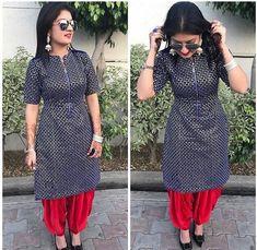 Defining the Grace of Punjabi Suits Patiala Suit Designs, Salwar Neck Designs, New Kurti Designs, Kurta Designs Women, Blouse Designs, Dress Designs, Mehndi Designs, Punjabi Fashion, African Fashion