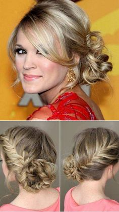 Prom Side Bun Hairstyles for 2018