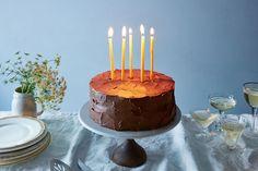 Anita Shepherd's Vegan Chocolate Birthday Cake With Super-Fluffy Frosting recipe on Food52