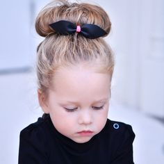 Girls Hair Bow-Leather - brown leather bow with neon -- genuine leather hair bow - point bow on Etsy, $7.99