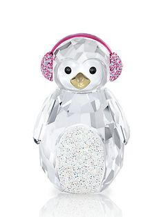 Swarovski Ornament. Rocking Penguin