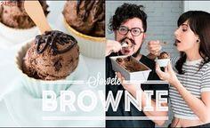 SORVETE DE BROWNIE  CHOCOLATUDO | BIGODE SOZINHO NA COZINHA | DANI NOCE