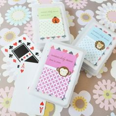 Event Blossom EB2033A Baby Animals Personalized Playing Cards Event Blossom EB2033A Baby Animals Personalized Playing Cards #timelesstreasure