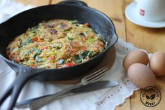 Paleo groente omelet Omelet, Lunches, Feel Good, Good Food, Dinner Recipes, Healthy Recipes, Eat, Ethnic Recipes, Interesting Recipes