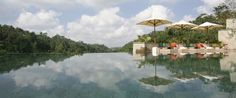 Ultimate Relaxation: Hanging Pools in Bali