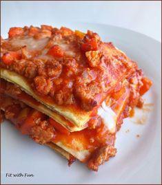 Lasagna Fit Low Carb Proteica e Gluten Free: voglia di qualcosa di Veramente Buono, da Mangiare con gli Occhi e che sia Salutare? Ecco qui!