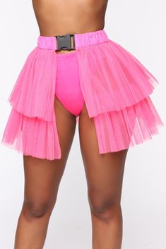 Oh So Winded Skirt Ii Hot Pink - Available in Neon Yellow and Hot Pink Organza Skirt 2 Tiers Elastic Waistband Buckle Closure Polyester Imported Short Outfits, Short Dresses, Womens Long Shorts, Bubble Skirt, Fashion Nova Models, Cut And Style, Female Models, Ball Gowns, Hot Pink