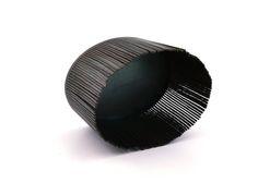 Batchelder.Lynn - Sawing/Drawing (Brooch)     by Lynn Batchelder steel - 2013