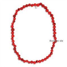 Halskette aus Paxiubao Samen, 80 cm, in vielen Farben erhältlich, original Sambaia 24,95