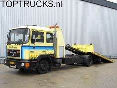 MAN 12.232 ABSCHLEPPE + BRILLE / TOWTRUCK - PLATAFORMA TOW