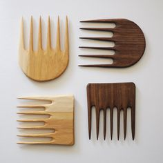 HAND-CARVED COMB - SQUARE | MEUS - meus is my friend Marichelle's shop-- and the selection is aaaamazinggg