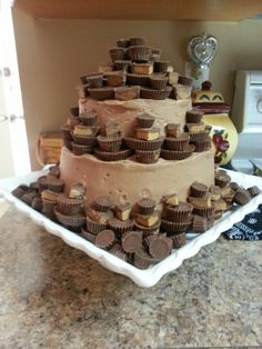 Reese's peanut butter cake :)