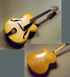 Zeidler (new) 'Project' Acoustic Archtop Custom Guitar - Mandolin Brothers, Ltd.