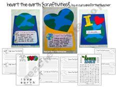 heart the earth {craftivities}